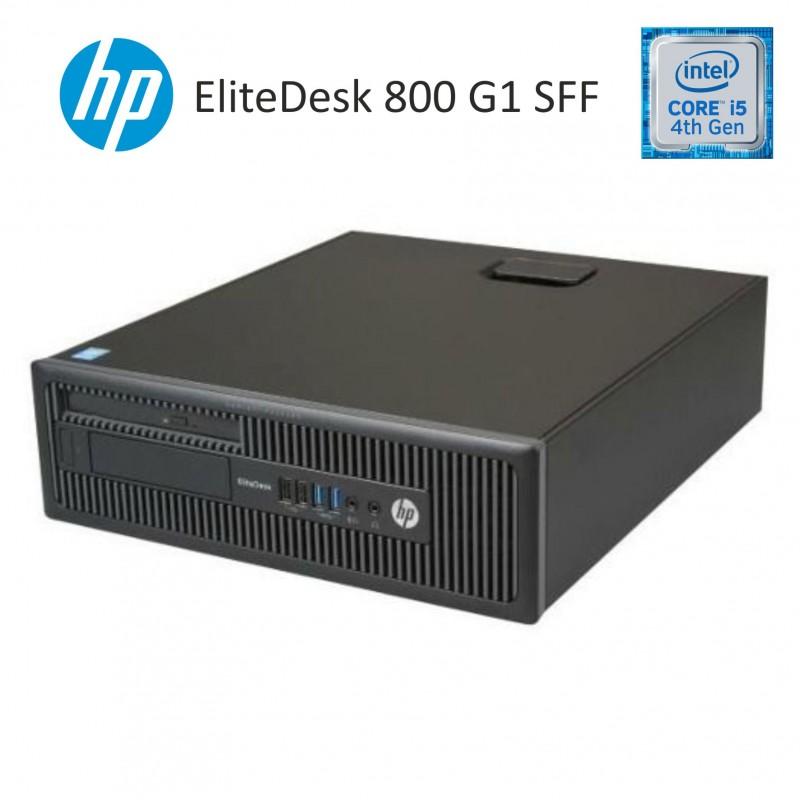 ordenadores seminuevos de ocasión hp elitedesk 800 g1 500 GB 8 GB RAM en Sant Celoni bit64.es